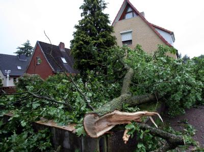 Tornado in Neumünster