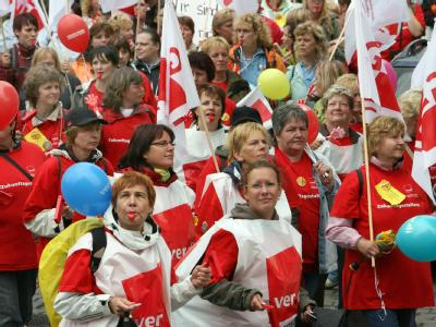Kita-Streik in Potsdam
