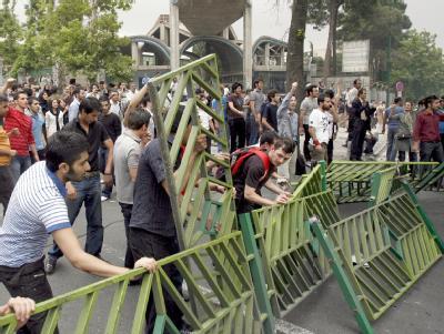 Proteste nach der Wahl im Iran