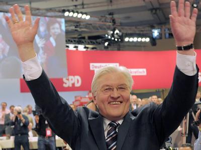 SPD-Kanzlerkandidat Steinmeier hält das Rennen ums Kanzleramt weiter für offen.