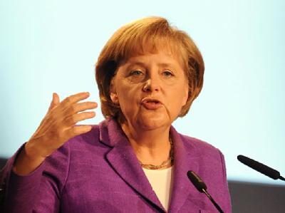 Angela Merkel will sich für die Soziale Marktwirtschaft als Modell für eine neue Weltwirtschaftsordnung einsetzen. (Archivbild)
