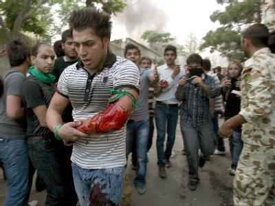 Demonstranten verletzt