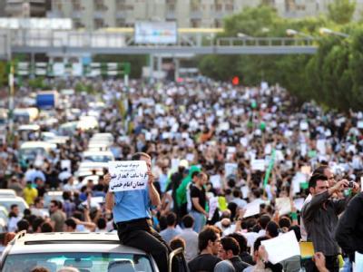 Massendemonstration in Teheran