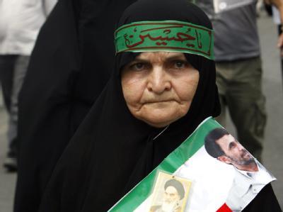 Demonstration für Ahmadinedschad