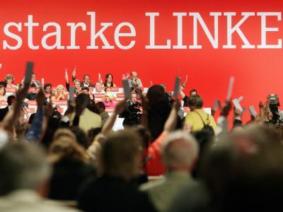 Bundestagswahl-Parteitag Die Linke