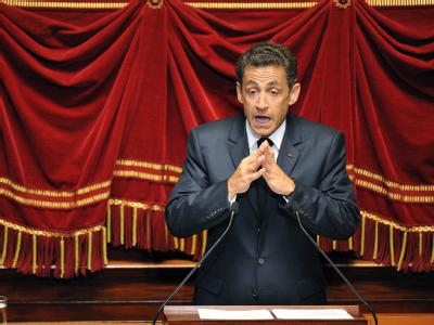 Sarkozy spricht vor dem Parlament