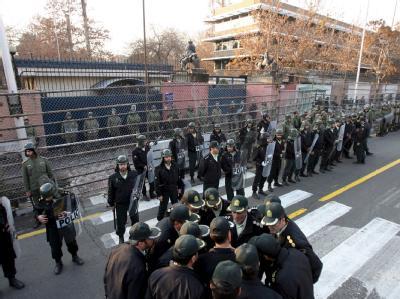 Britische Botschaft in Teheran