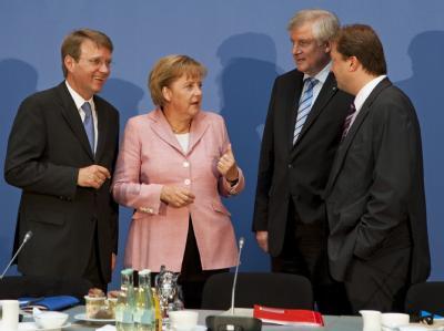 Vorstandssitzung von CDU und CSU