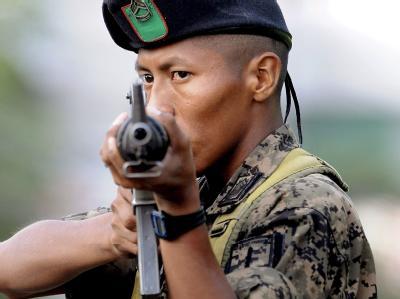 Die honduranische Interims-Regierung hat die Armee im ganzen Land aufmarschieren lassen.