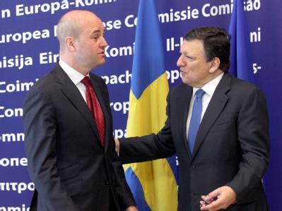 Reinfeldt und Barroso