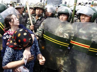 Proteste im Nordwesten Chinas