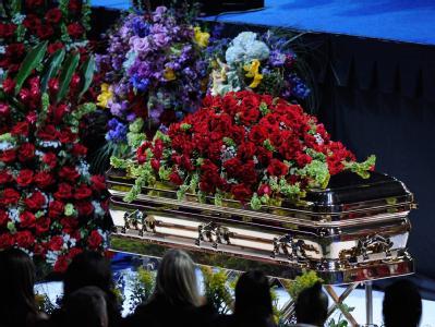 Trauerfeier für Michael Jackson