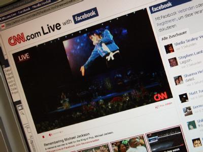 Internetnutzer verfolgen Jackson-Trauerfeier