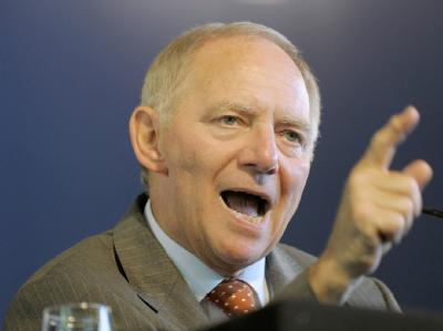 Bundesinnenminister Schäuble