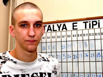 Der damals 17-jährige Marco im Gefängnis in Antalya (Archivfoto).