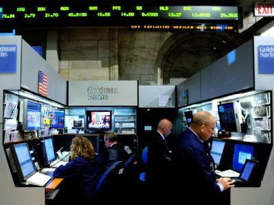 Ähnelt ein wenig einer Spielhalle und ist auch eine: Goldman-Sachs-Handelsraum an der New Yorker Wall Street.