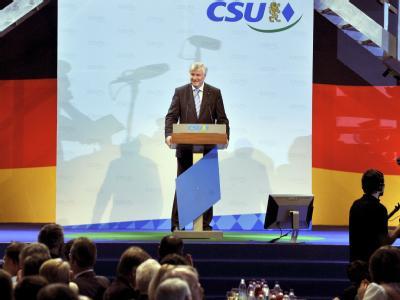 CSU-Chef Horst Seehofer spricht: Mit ihrem Parteitag will die CSU das Aufbruchssignal für den Bundestagswahlkampf geben.