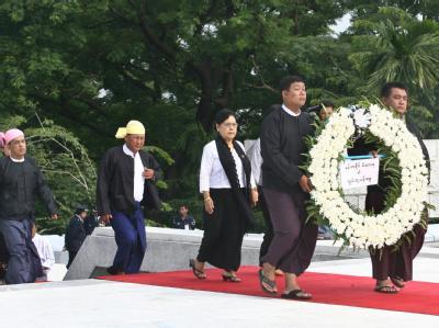 Der 19. Juli wird inBirma als Märtyrer-Tag gefeiert.