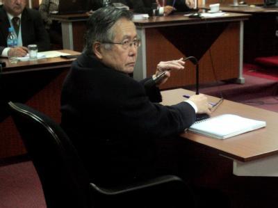 Zu sieben Jahren Haft wegen Korruption verurteilt: Der frühere peruanische Präsident Alberto Fujimori.
