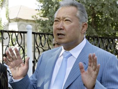 Pr�sidentenwahl in Kirgistan