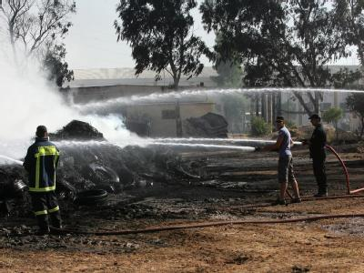 Brand in Athen