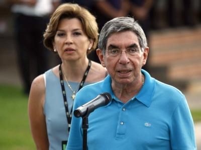 Costa Ricas Präsident Oscar Arias ist an Schweinegrippe erkrankt.