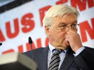 Bundesaußenminister und Kanzlerkandidat Frank-Walter Steinmeier (SPD) ist in der Gunst der Wähler auf einen neuen Tiefstwert gefallen.