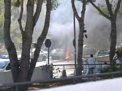 Bombenanschlag auf der Ferieninsel Mallorca.