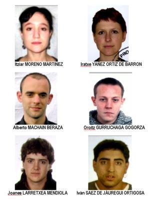 Verdächtige ETA-Mitglieder