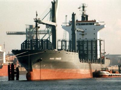 Containerschiff �Hansa Stavanger�