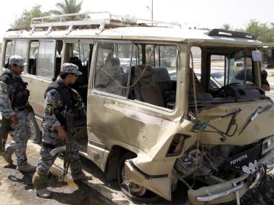 Dutzende Menschen kamen an einem schiitischen Feiertag im Irak durch Anschläge ums Leben.