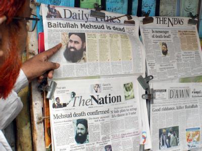 Nach dem Tod des pakistanischen Taliban-Chefs Baitullah Mehsud ist ein heftiger Machtkampf um seine Nachfolge entbrannt.