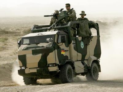 Eine Patrouille der Bundeswehr in Afghanistan (Archivbild).
