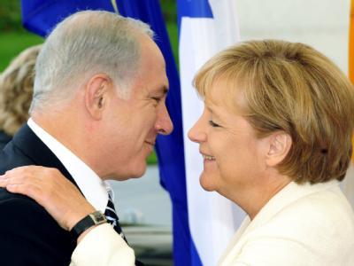 Merkel empfängt Netanjahu