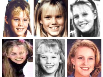 Suchanzeige mit simuliertem Altersfortschritt bis zum 25. Lebensjahr für eine Amerikanerin, die als Elfjährige entführt wurde.