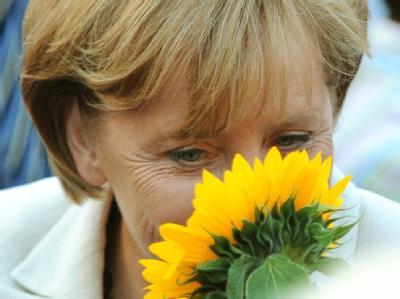 Bundeskanzlerin Angela Merkel (CDU) hofft auf eine Koalition mit der FDP. (Archivbild)