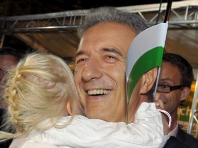Im Kreis der CDU-Wahlkämpfer der erfolgreichste: Der sächsische Ministerpräsident Stanislaw Tillich.