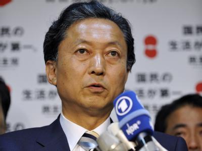 Der designierte japanische Ministerpräsident Yukio Hatoyama.