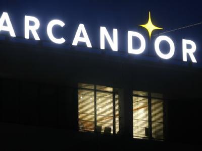 Der Handels- und Tourismuskonzern Arcandor leidet schon seit Jahren unter hohen Schulden.