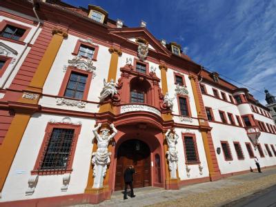 Die Thüringer Staatskanzlei in Erfur, Amtssitz des Ministerpräsidenten.