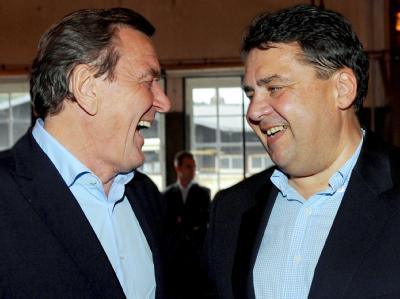 Gabriel und Schröder