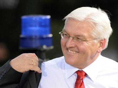 Die neuesten Umfragen gegen SPD-Kanzlerkandidat Frank-Walter Steinmeier Rückenwind.