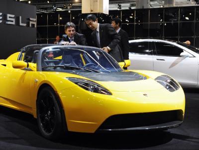 Umweltfreundlich, aber nicht ganz billig: Tesla Roadster.