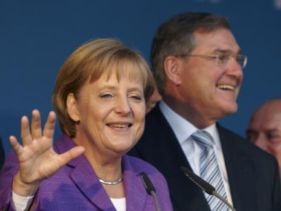 Watteweicher Wahlkampf? Führende Unionsleute fordern von Kanzlerin Angela Merkel mehr klares Profil.