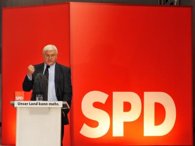Beim TV-Duell konnte SPD Kanzlerkandidat Steinmeier Punkten. Auch in den Umfragen legt die SPD zu.