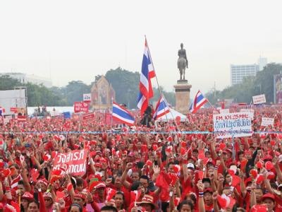 Demonstration f�r Thaksin