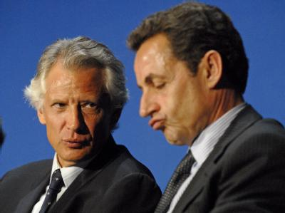 De Villepin und Sarkozy