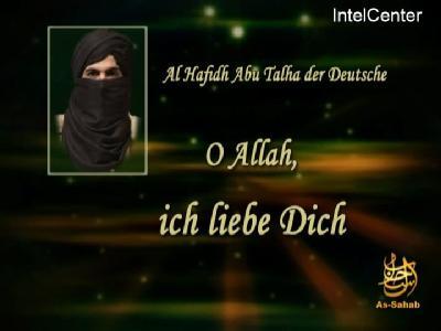 Screenshot einer angeblichen neuen Botschaft von Abu Talha: