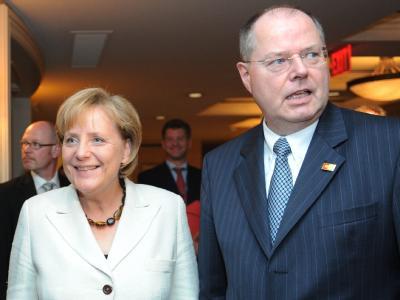 Merkel und Steinbrück beim G20-Gipfel
