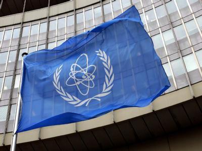 Die Internationale Atomenergie Agentur in Wien. Der Iran will nach eigenen Worten mit der internationalen Behörde kooperieren. Foto: Roland Schlager/Archiv